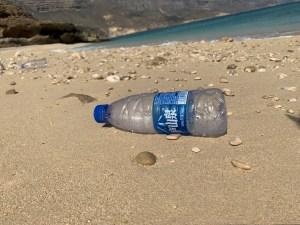 Rubbish at Shaat beach
