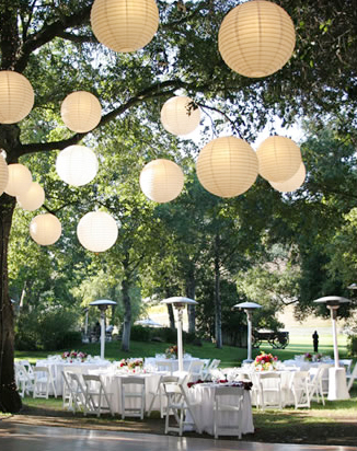 Beautiful Outdoor Wedding Reception