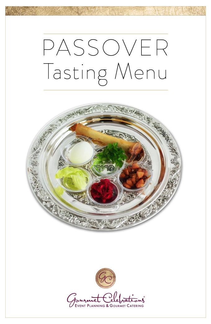 Gourmet Celebrations Spring Tasting Menu 2016 Catering Los Angeles