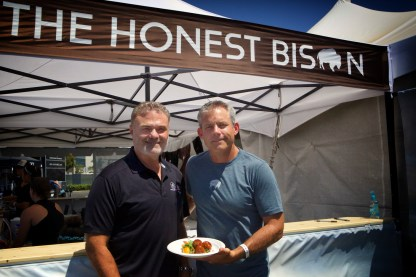 Gourmet Celebrations Event Catering: Barry Saven and Sean Lenihand from Honest Bision