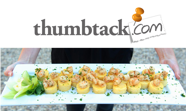 Gourmet Celebrations: Proud to be part of thumbtack.