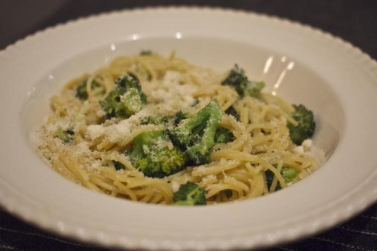 Spaghettini with Broccoli