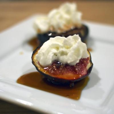 Figs in a Port Reduction Sauce