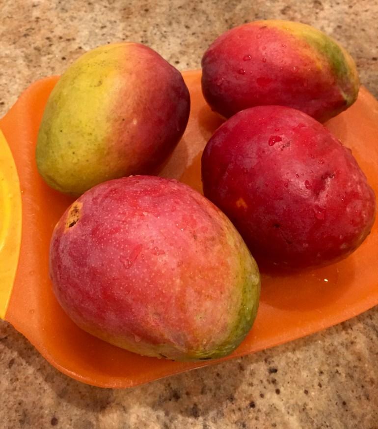 4 mangoes