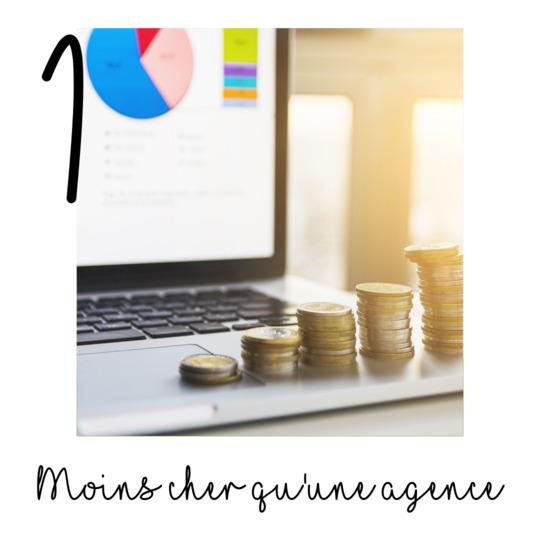 Travailler avec un freelance c'est payer moins cher qu'avec une agence