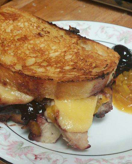 Southern Gentleman's Grilled Cheese