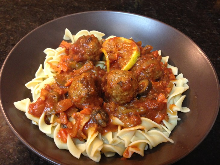 Instapot Recipes: Moroccan Spiced Meatball Stew