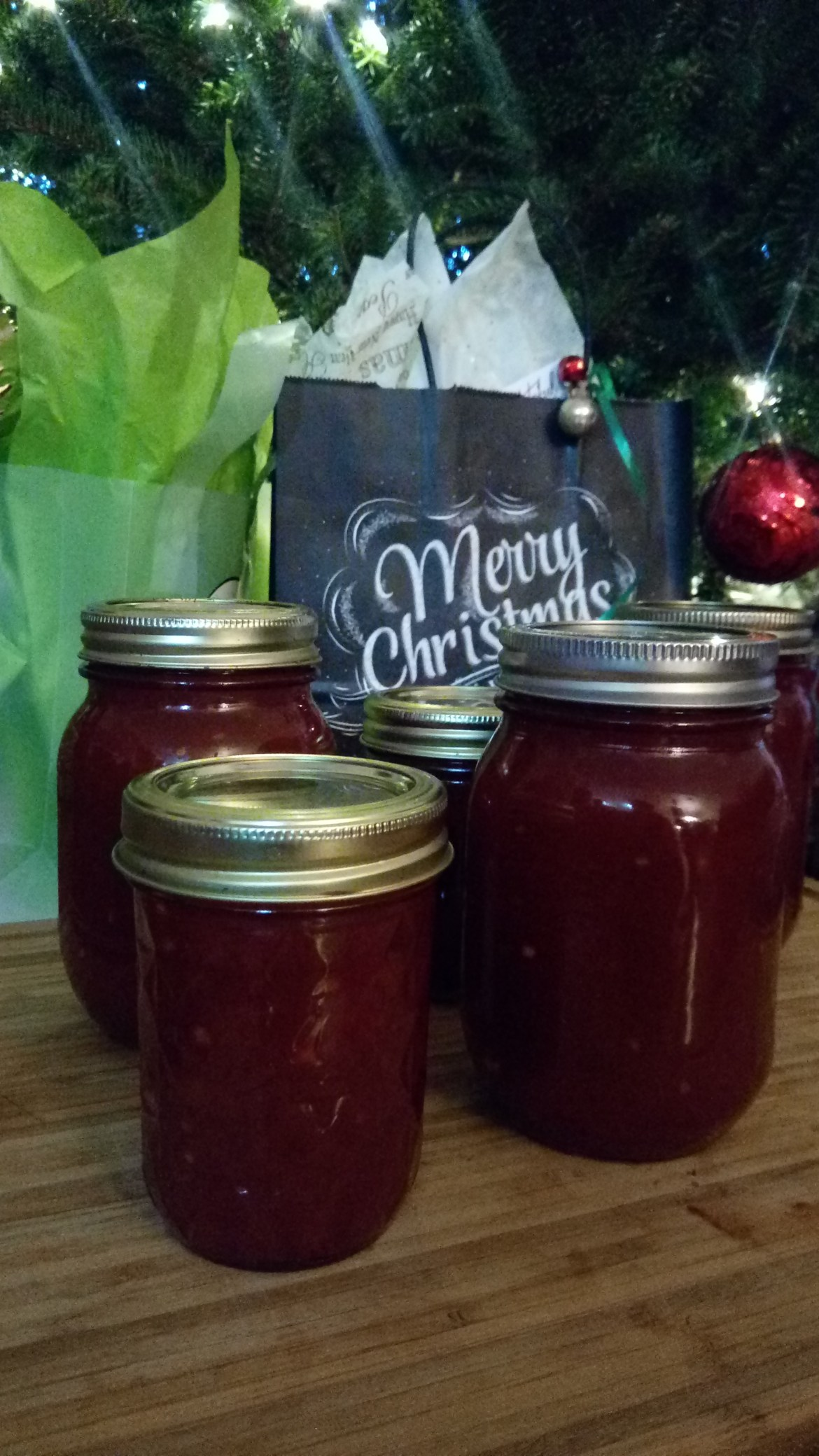 Sweet & Spicy Tomato Jam #RedGold