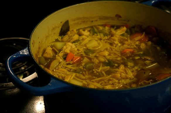 Chunky Chicken and Vegetable Soup