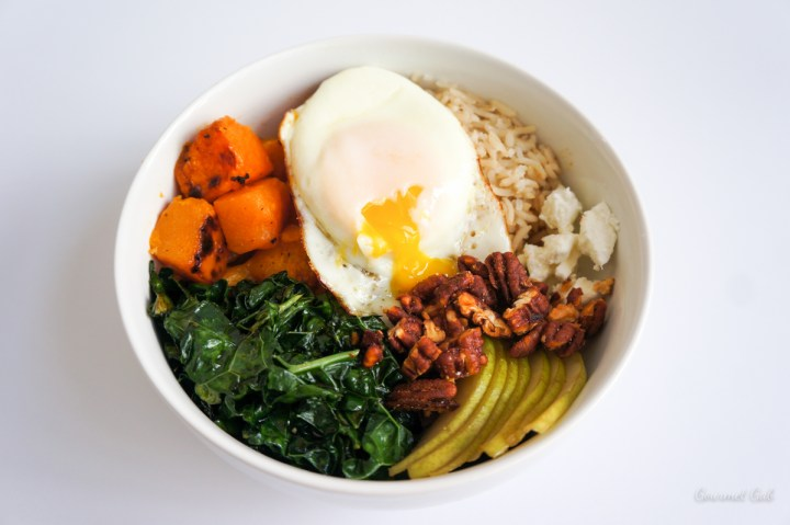 Gourmet Gab Butternut Squash and Kale Bowl