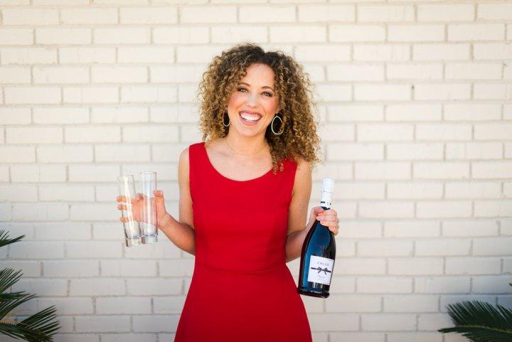 Gourmet Gab Valentine's Day Champagne