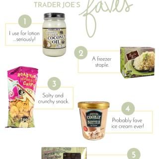 Gourmet Gab April Trader Joe's Favorites