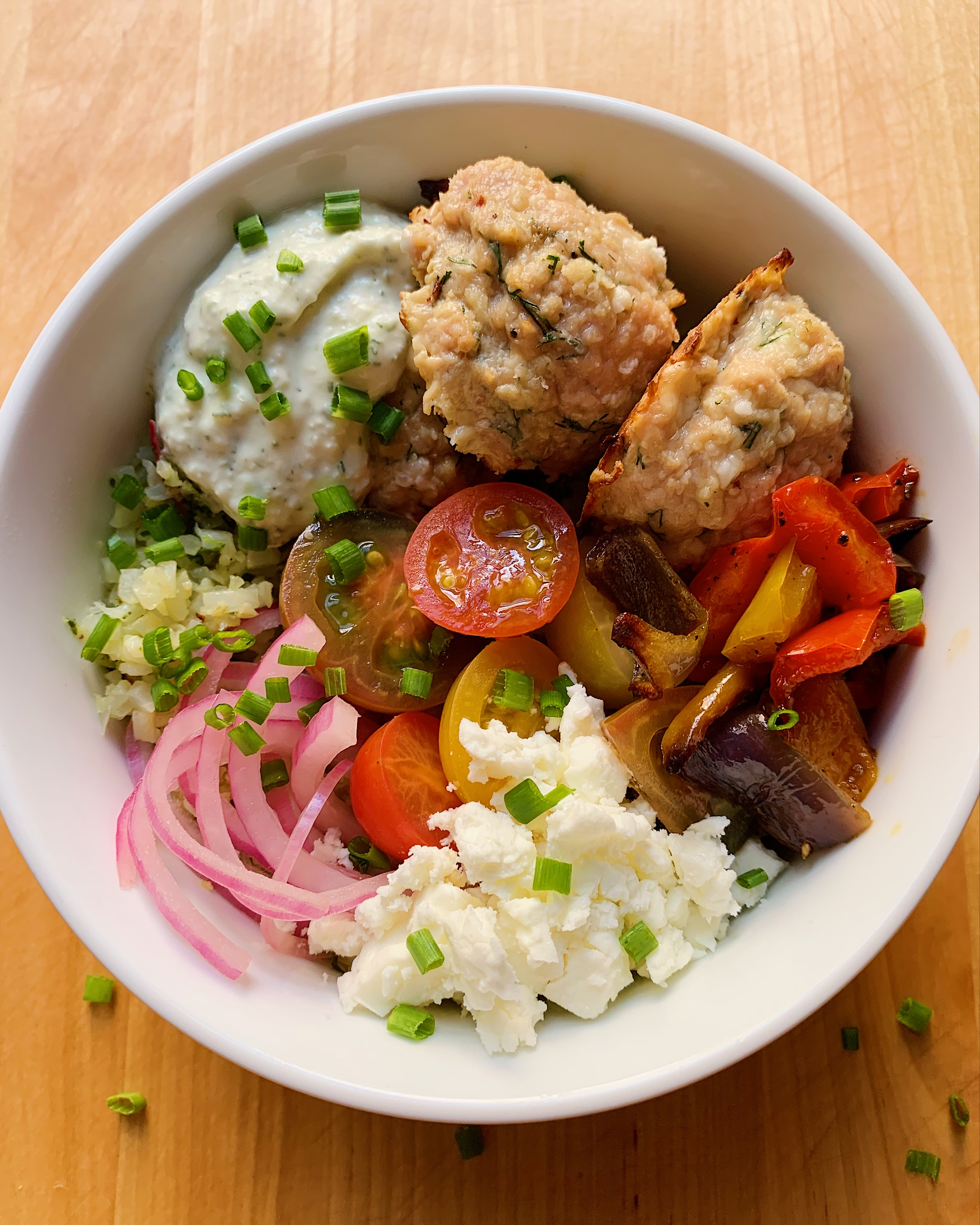 Chicken and Dill Meatballs