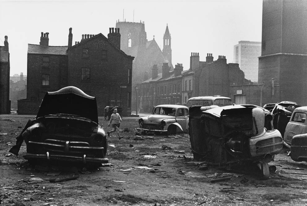 Abandoned cars - Manchester 1965