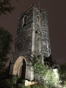 the intimate space, st mary's church tower