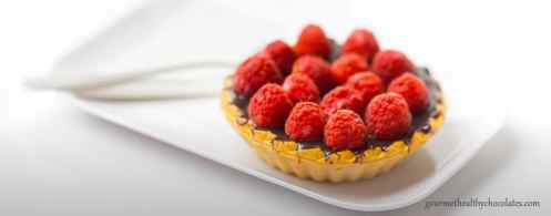 gourmet-healthy-chocolate-raspberry-tart