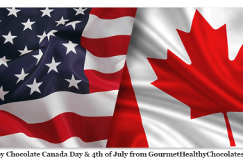 Happy-Chocolate-Canada-Day-&-4th-of-July-from-GourmetHealthyChocolates