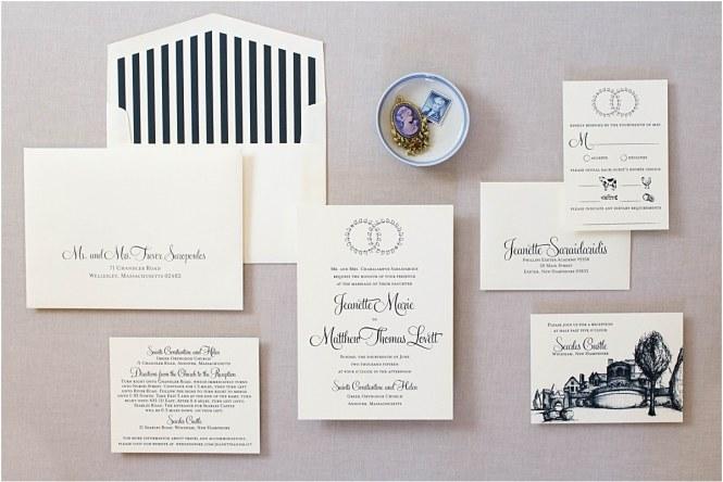 Greek Wedding Crown Invitations Gourmet