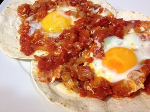 Huevos rancheros receta fácil