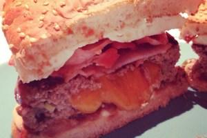 Receta de hamburguesas caseras rellenas