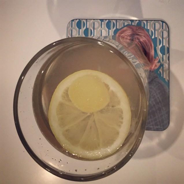 receta de te de jengibre y limon
