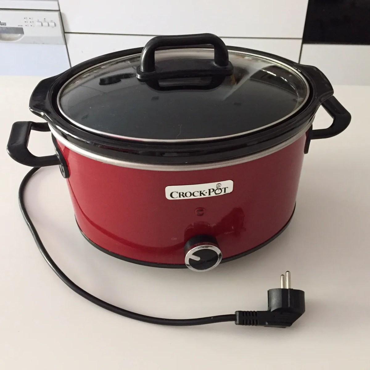 Qué es y como funciona una olla de cocción lenta tipo Crock Pot