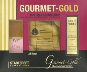 oro comestible kit iniciación Gold Gourmet