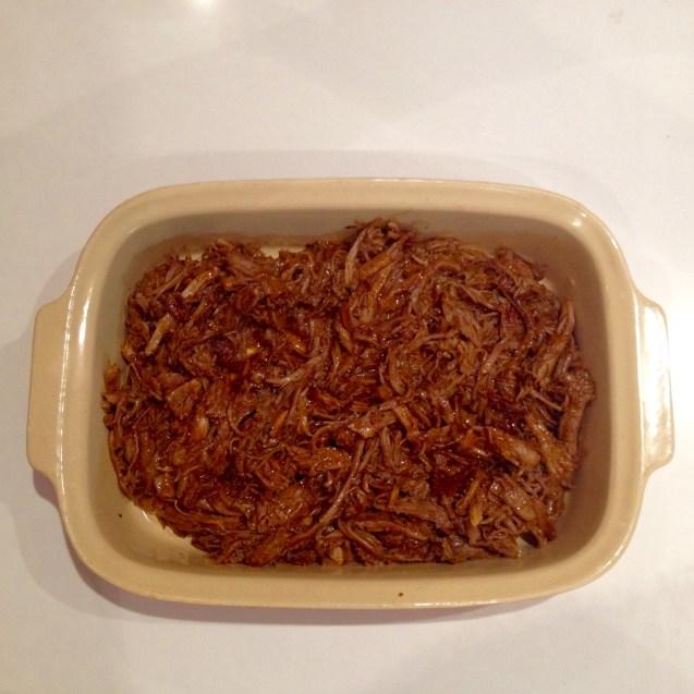 receta pulled pork cerdo desmeduzado