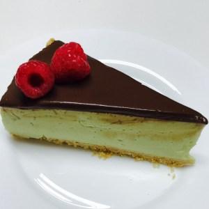 Receta de tarta de aguacate y chocolate negro