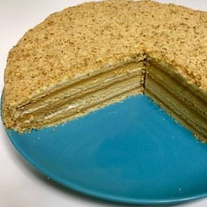 Cómo hacer tarta checa medovnik marlenka