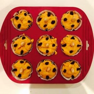 paso a paso para muffins de bonito batata
