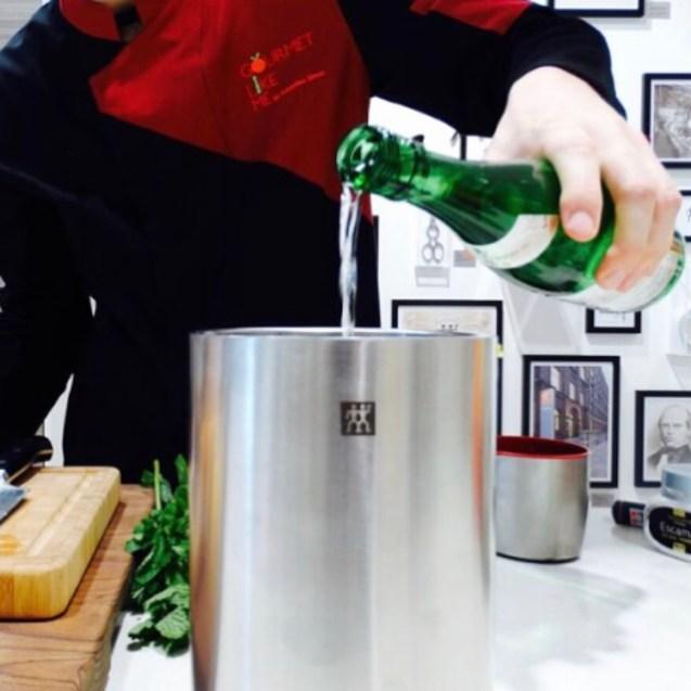 cocteles sake recetas