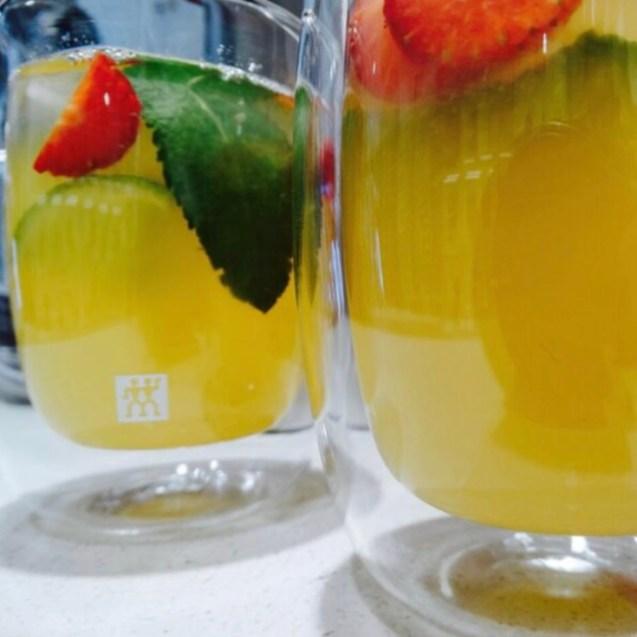 receta sangria de sake