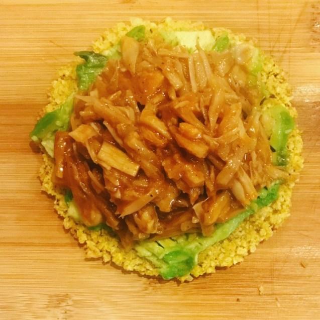 receta pulled pork vegano jackfruit