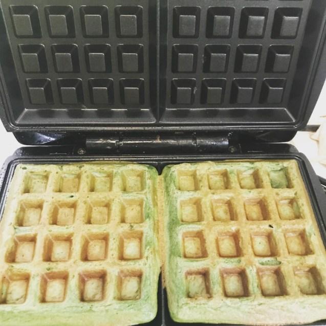 waffles de avena receta