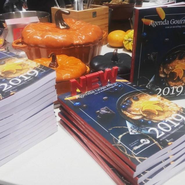 agenda gourmet 2019 donde comprarla