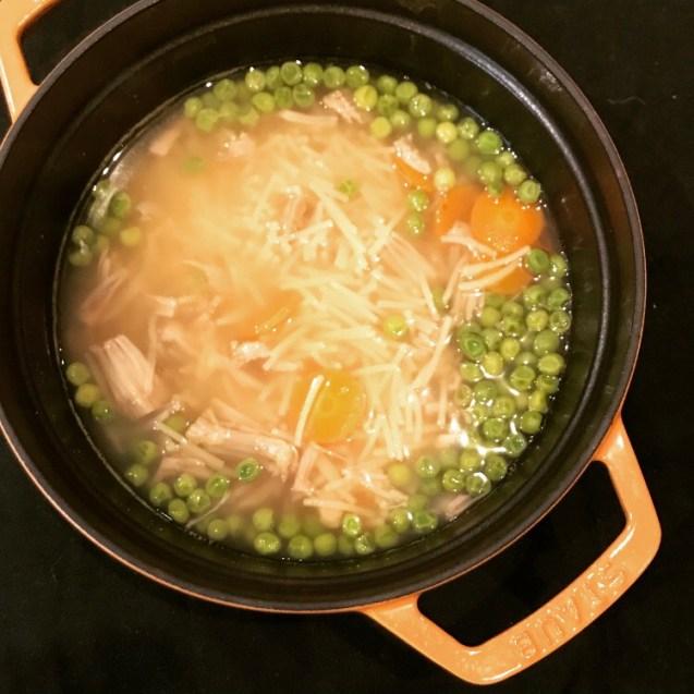 receta sopa vegana jackfruit