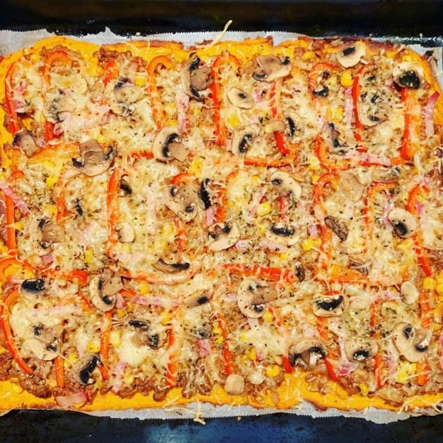 pizza masa boniato batata