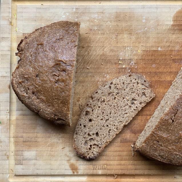 pan masa madre crockpot