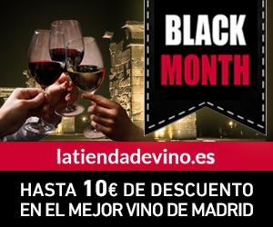 black friday vinos de madrid