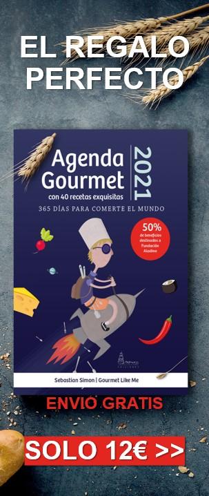 comprar agenda gourmet 2021