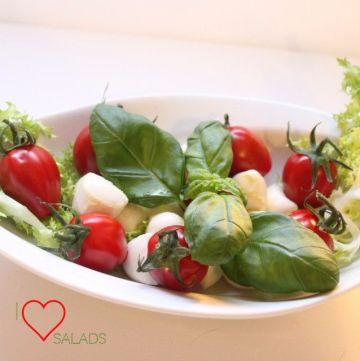 Salad, Mediterranean Diet, Olive Oil
