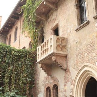 Juliette's Balcony in Verona