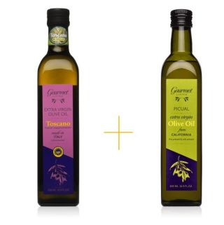 tuscan blend evoo and CA extra virgin olive oil