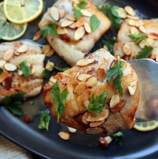 Nigella Lawson Cod with Almonds