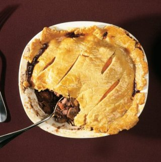 Guinness Pie for St. Patrick's Day