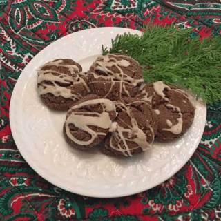 Aunt Gertie Molasses Cookies