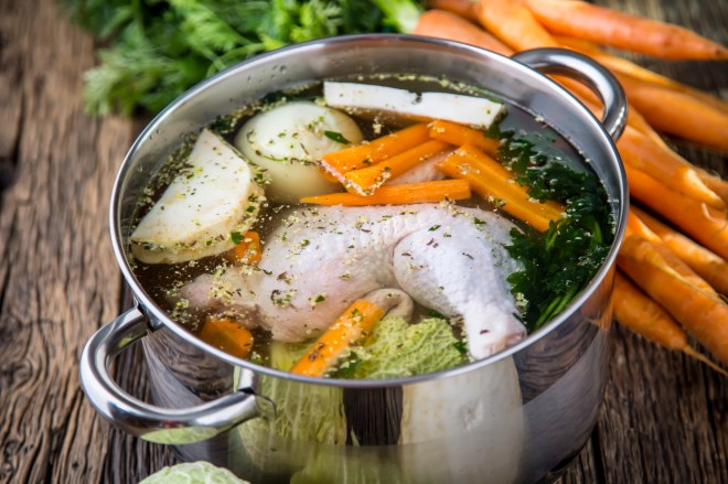 Healing Chicken Broth