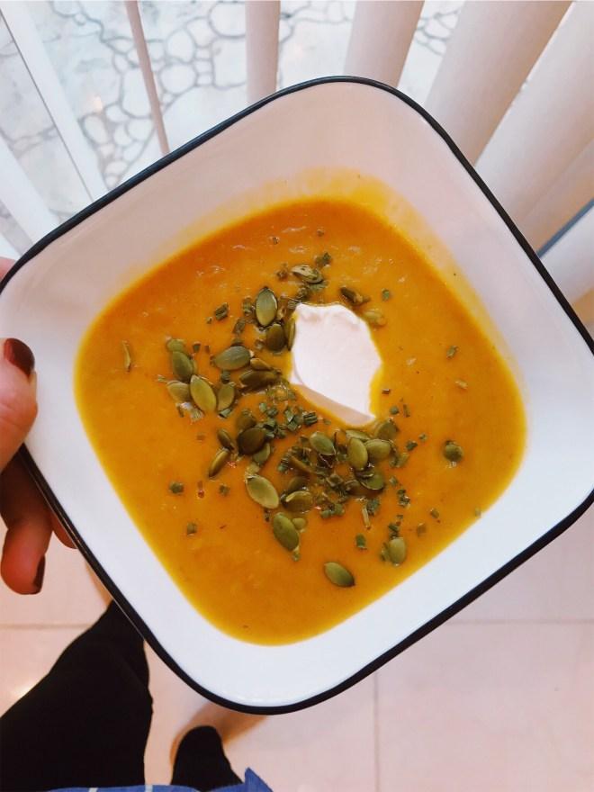 Quickest Ever Pumpkin Soup