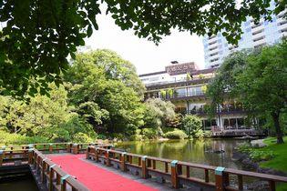日本庭園を一望できる和モダンな空間で大人のビアテラス  原宿の結婚式場が贈る『神楽』7月18日より期間限定オープン